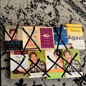 Joyce Meyers Inspirational Books (2)